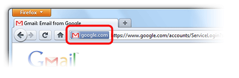 how to clear web address bar in firefox