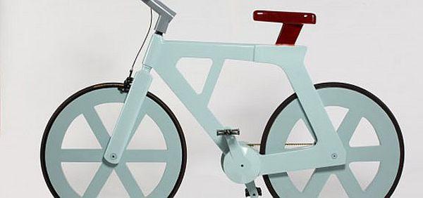 487Как сделать велосипед из картона