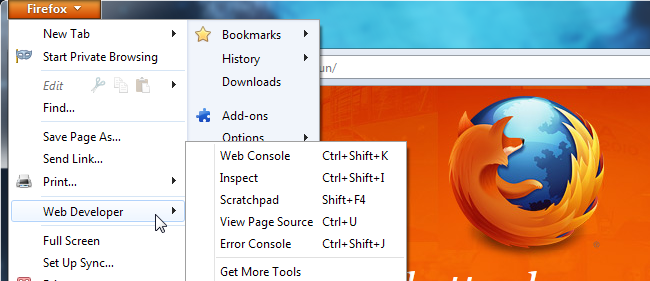How to Use Firefox Web Developer Tools « Tutorials